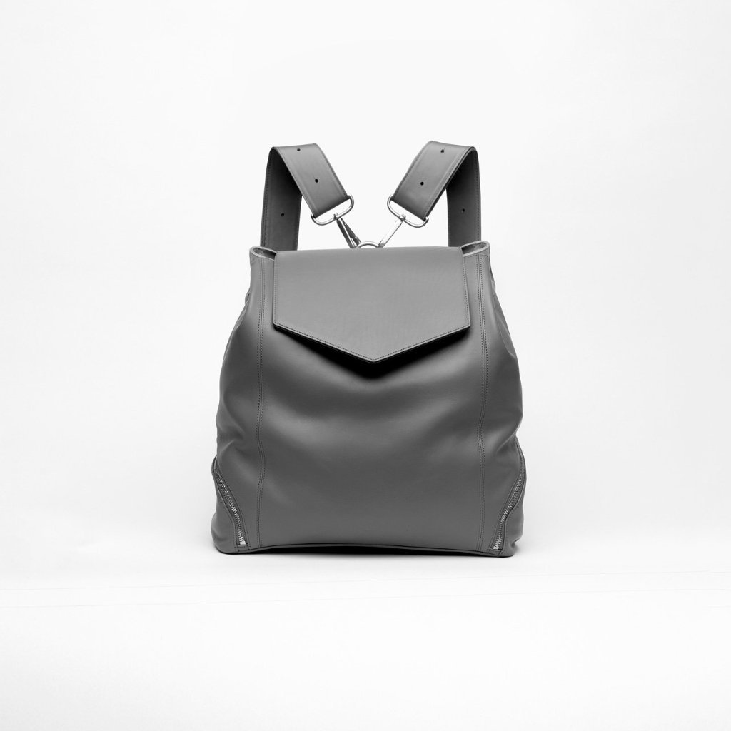 2d1220bdd3981 The Professional: Leather Backpack Purse | Holly & Tanager