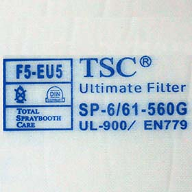 ULTIMATE EU5 Roof Inlet Filter - Pack