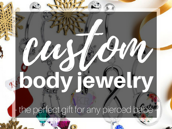 Custom Body Jewelry: Belly Rings to Personalize for the Perfect Holiday Gift