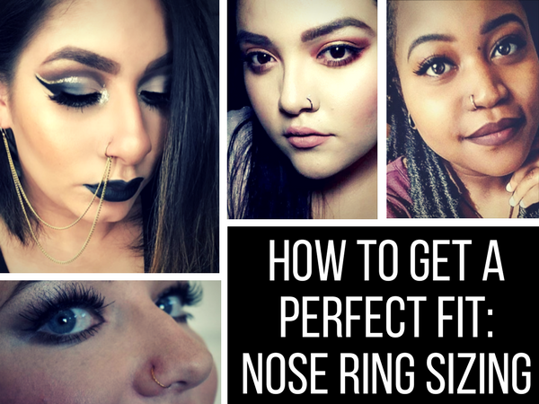 Nose Ring Sizing: How to Get a Perfect Fit