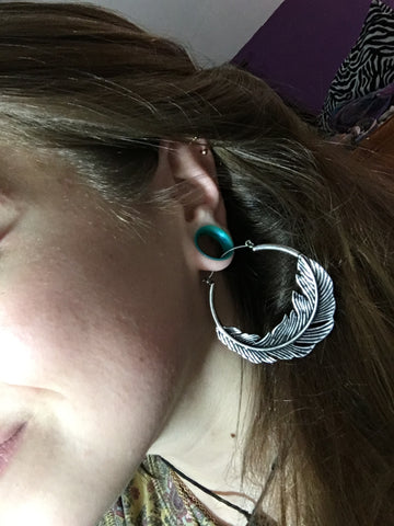 dress up your stretched lobes with dangles hangers weights and