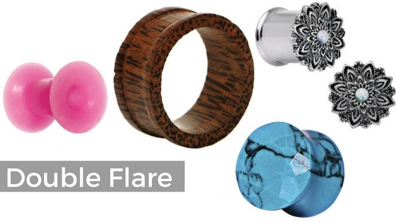 double-flare-plugs