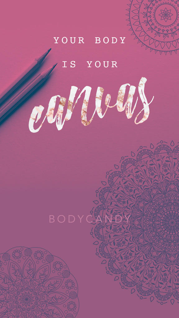 Body Candy Wallpaper - Your Body Is Your Canvas