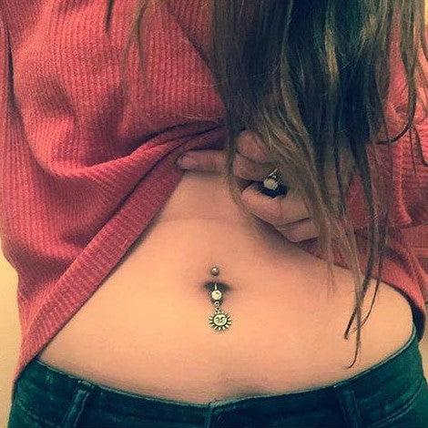 How bad does piercing your belly button hurt
