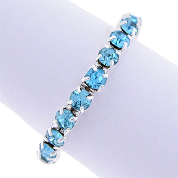 Aquamarine Cubic Zirconia Toe Ring