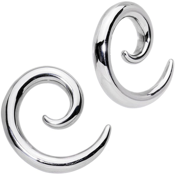 Stainless Steel Spiral Taper Set 5mm to 0 Guage