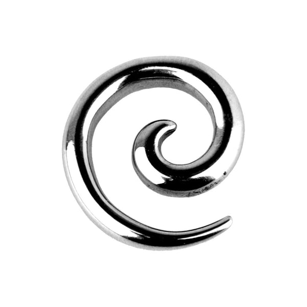 6 Gauge Surgical Steel Curved Spiral Taper