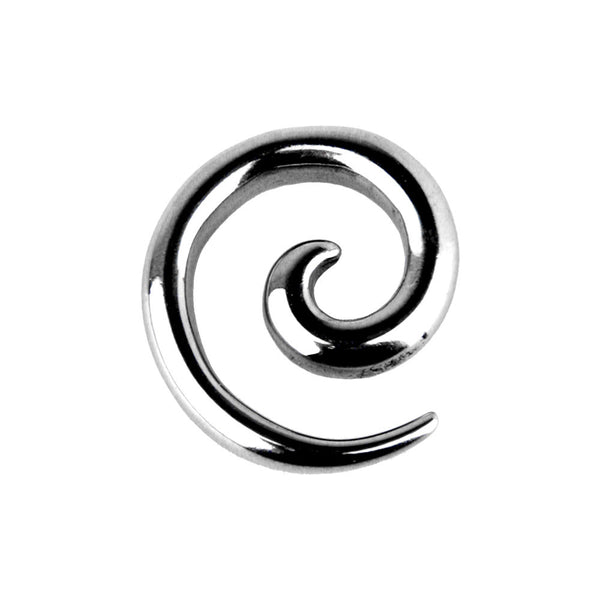 8 Gauge Surgical Steel Curved Spiral Taper