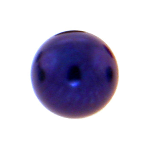Dark Purple Titanium Threaded 5mm Replacement Ball