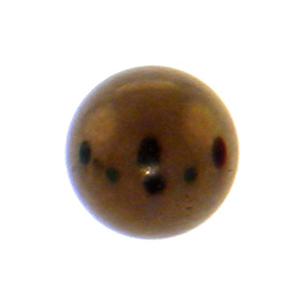 Brown Titanium Threaded 5mm Replacement Ball