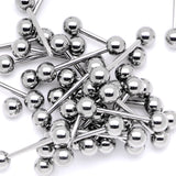14 Gauge Stainless Steel Barbell Tongue Ring 5/8 6mm