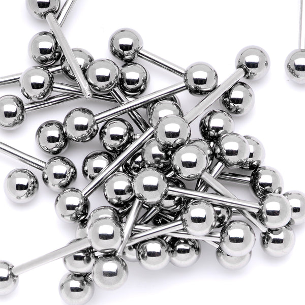 5 x Threaded Surgical Steel Balls Spare Parts Body Piercing Jewellery