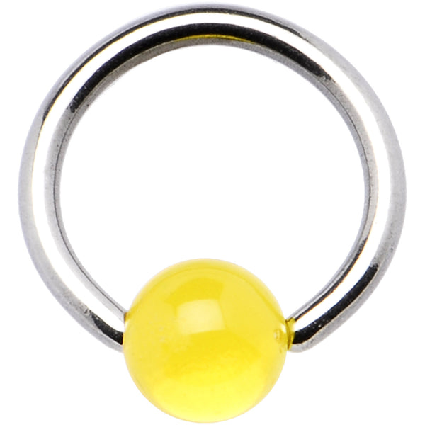 14 gauge LEMON BCR Captive Ring