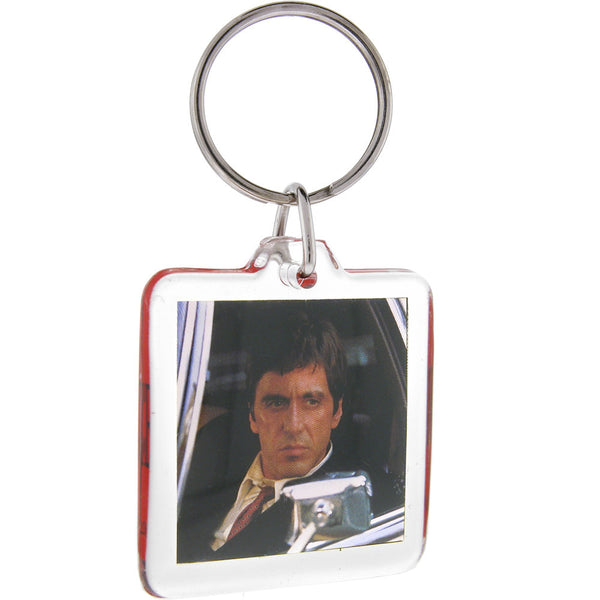 Officially Licensed SCARFACE Tony Sitting In Car Key Chain