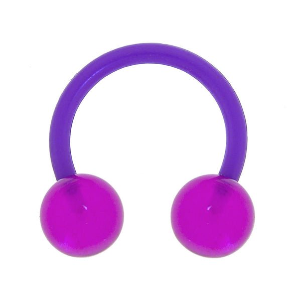 Bioplast Magenta Magic Circular Horseshoe