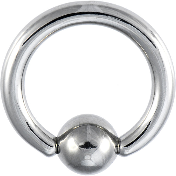 8 Gauge 5/8 Stainless Steel BCR Captive Ring