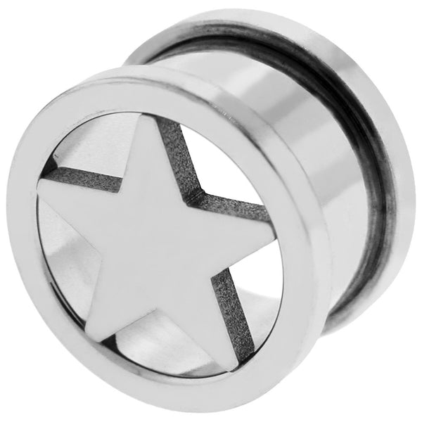 5/8 SCREW FIT Star Tunnel