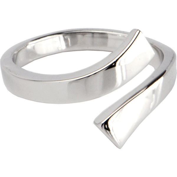 Sterling Silver 925 Smooth Divided Toe Ring