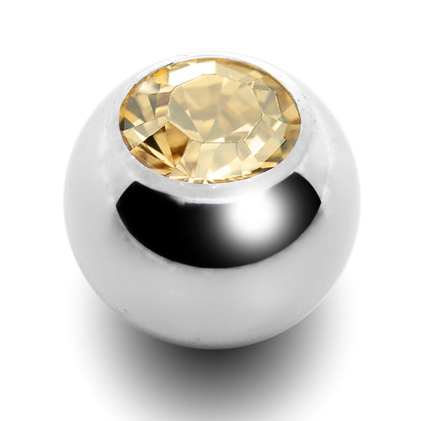 5mm Golden Shadow Replacement Ball Created with Swarovski Crystals