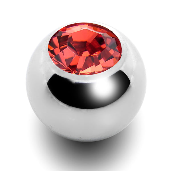 5mm Padparadscha Replacement Ball Created with Swarovski Crystals
