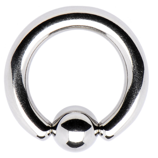 "8 Gauge STEEL BCR Captive Ring 1/2"" 5mm"