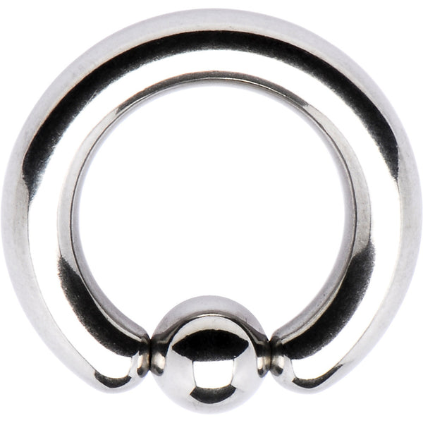 "6 Gauge STEEL BCR Captive Ring 1/2"" 6mm"