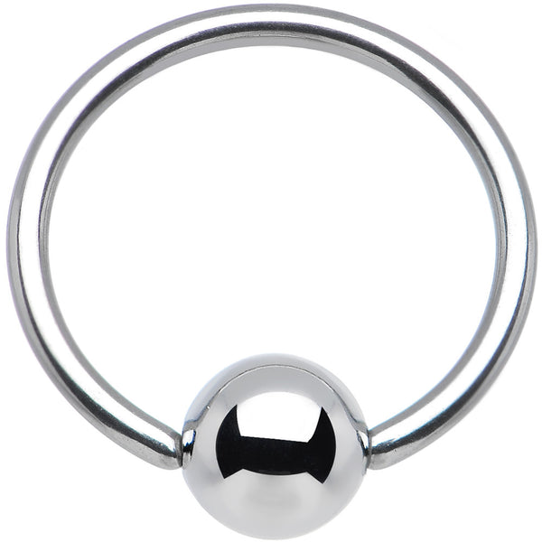 "16 Gauge STEEL BCR Captive Ring 1/2"" 5mm"