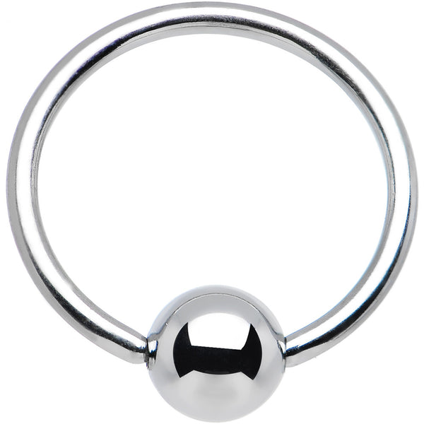 "18 Gauge STEEL BCR Captive Ring 3/8"" 4mm"