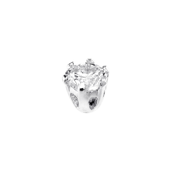 Sterling Silver 925 Cubic Zirconia Replacement Ball