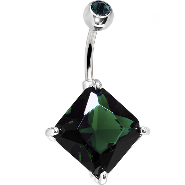 May 16mm Diamond Birthstone Belly Ring