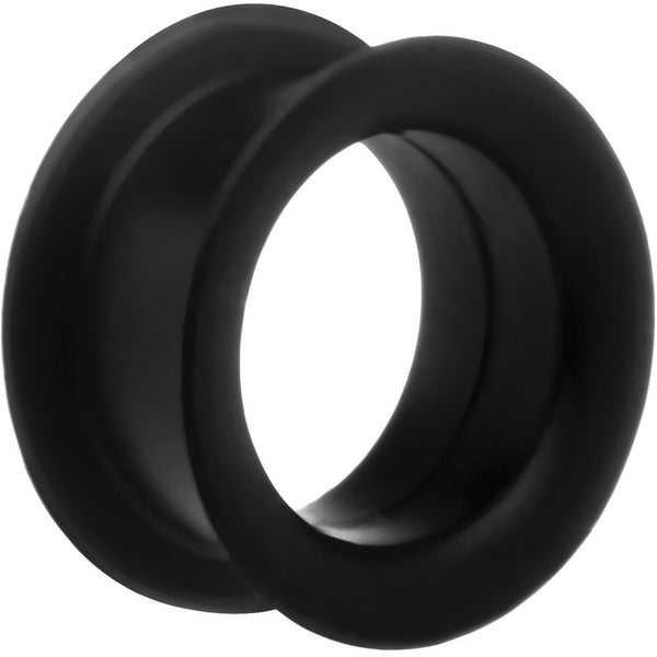 "13/16"" Black Silicone Tunnel"