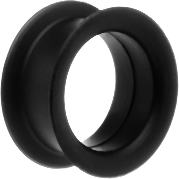 "7/8"" Black Silicone Tunnel"