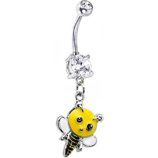 Buzzing Bumble Bee Belly Ring