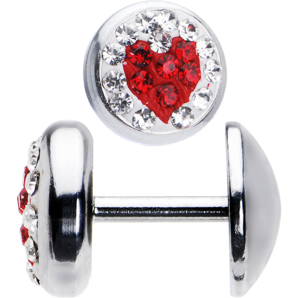 Gem Red Heart Cheater Plug