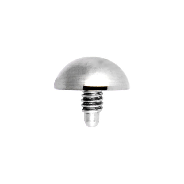 Grade 23 Solid Titanium 4MM Dermal Dome Top