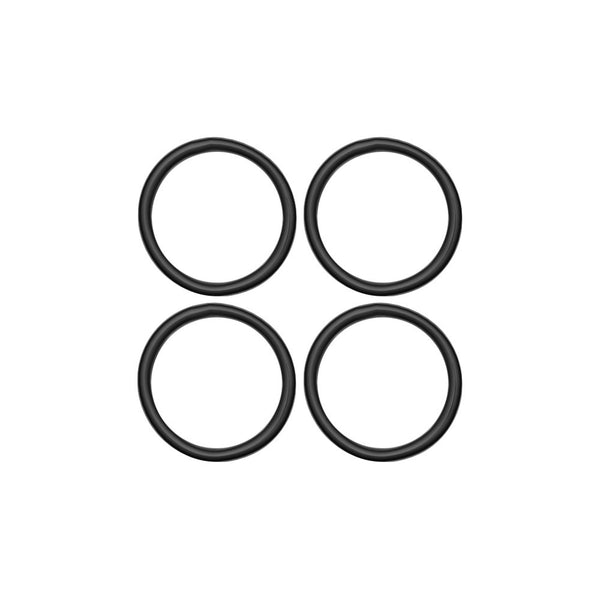 "7/8"" Black Rubber O-Ring 4-Pack"