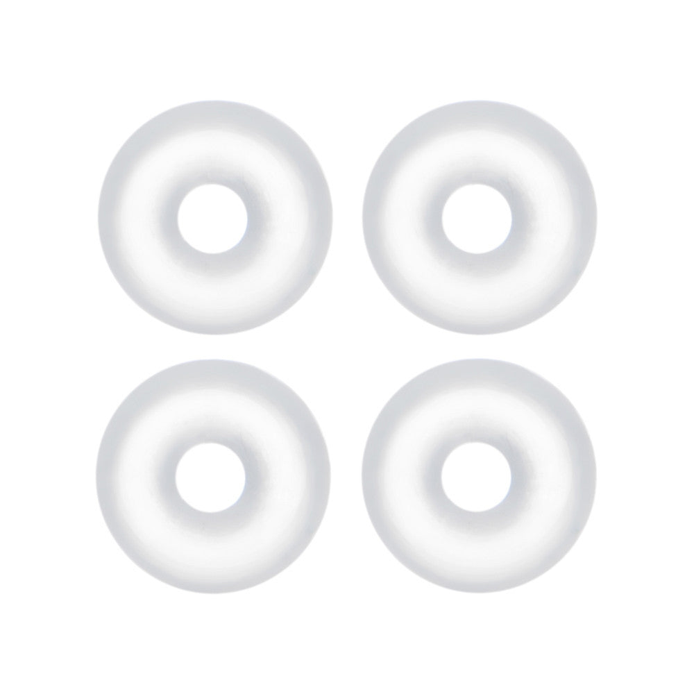14 Gauge Clear Rubber O-Ring 4-Pack – BodyCandy