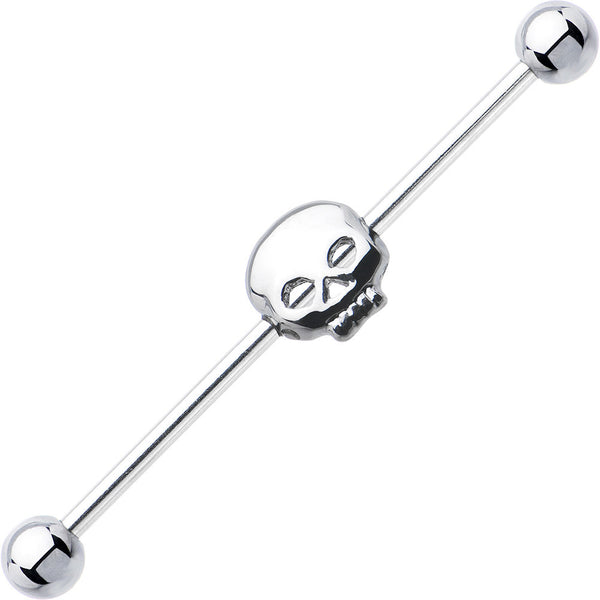 Surgical Steel Hollow Skull Industrial Project Bar 37mm