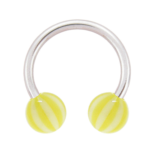 Sunkiss Beach Ball Horseshoe Circular Barbell