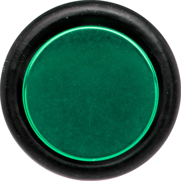 0 Gauge Green Titanium Fake Taper Ear Plug