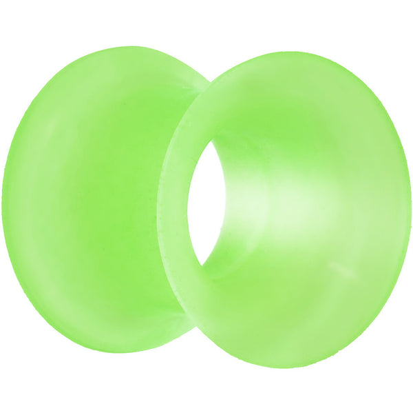 00 Gauge Green Thin Double Flare Flexible Tunnel
