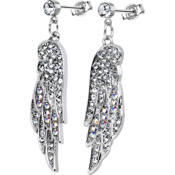 Fly Away Angel Wing Earrings