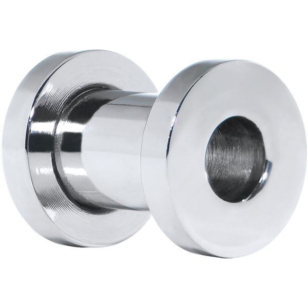 2 Gauge Externally Threaded Steel Tunnel