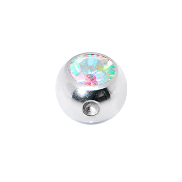 4mm Aurora Gem Captive Bead Ring Replacement Ball