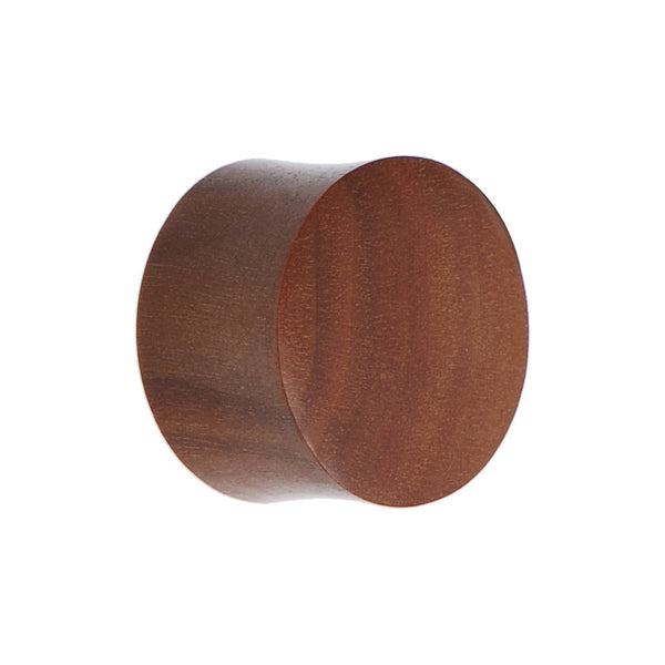 18mm Organic Solid Sawo Wood Saddle Plug