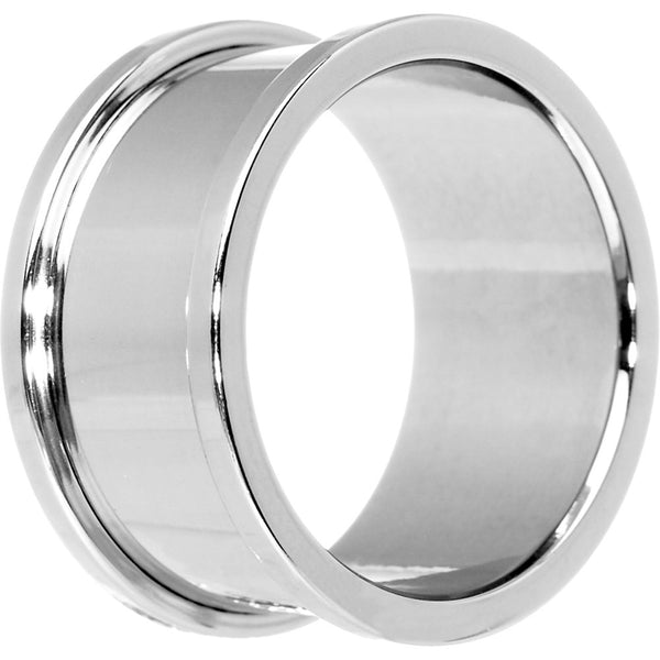 1 inch Stainless Steel Threaded Tunnel Plug