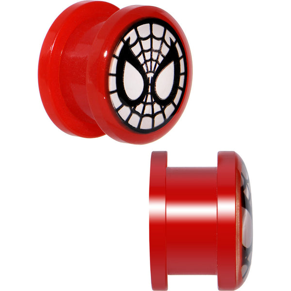 "1/2"" Spiderman Screw Fit Plugs Set"