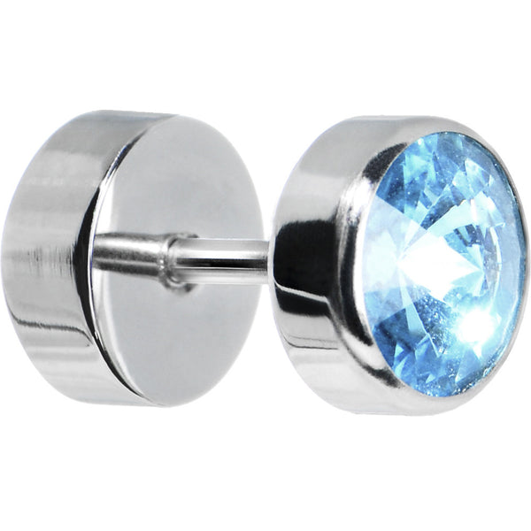 Steel Aqua Gem Cheater Plug