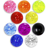 5mm Glitter Acrylic Replacement Ball Bonus Back