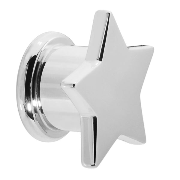 1/2 Shining Star Stainless Steel Screw Fit Tunnel